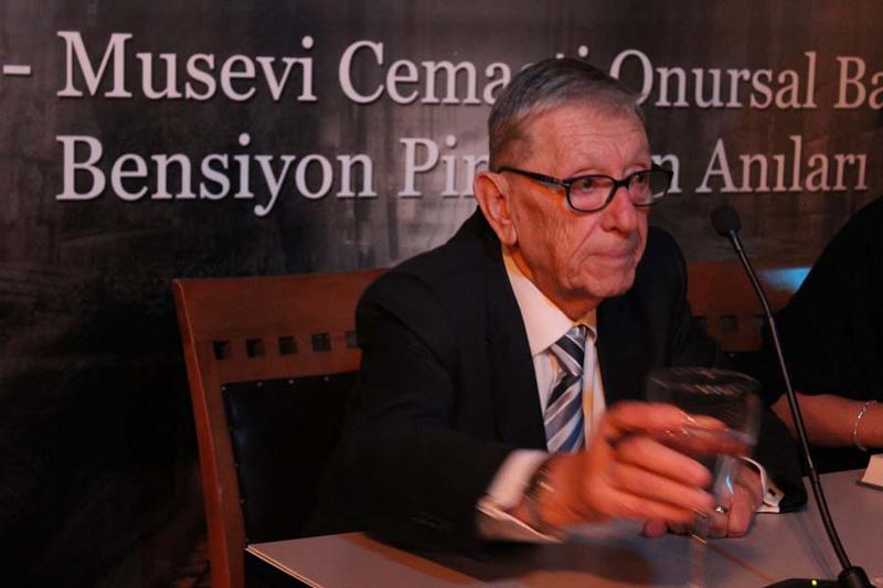 """""""My Life As A Turkish Jew"""" Kitabının Lansmanı Gerçekleşitirildi"""