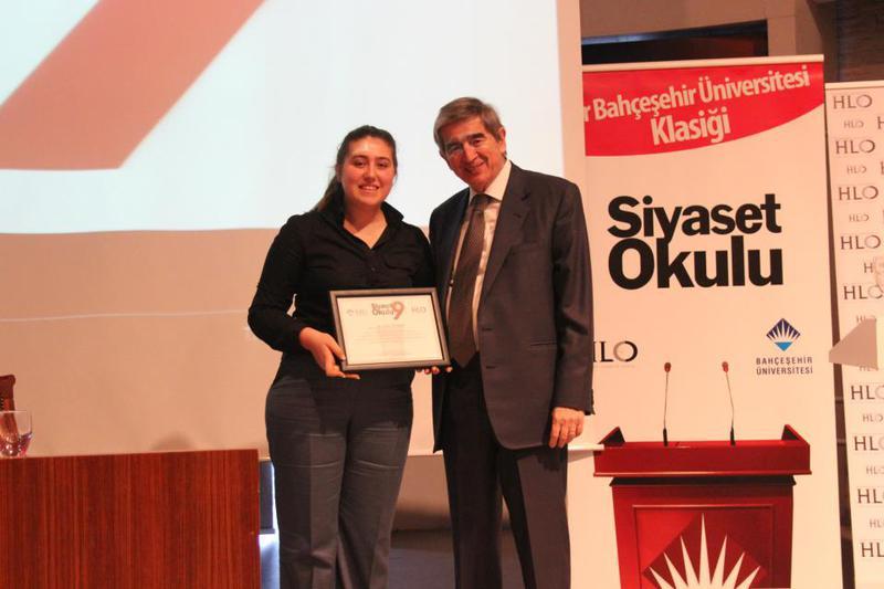 Bahçeşehir Üniversitesi Siyaset Okulu 9 Üçüncü Hafta