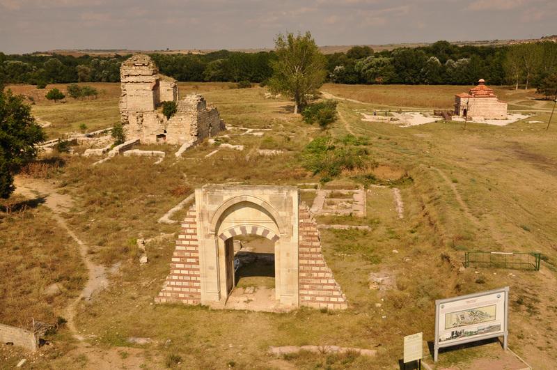 Edirne, bau, arkeoloji, yeni saray, 2013